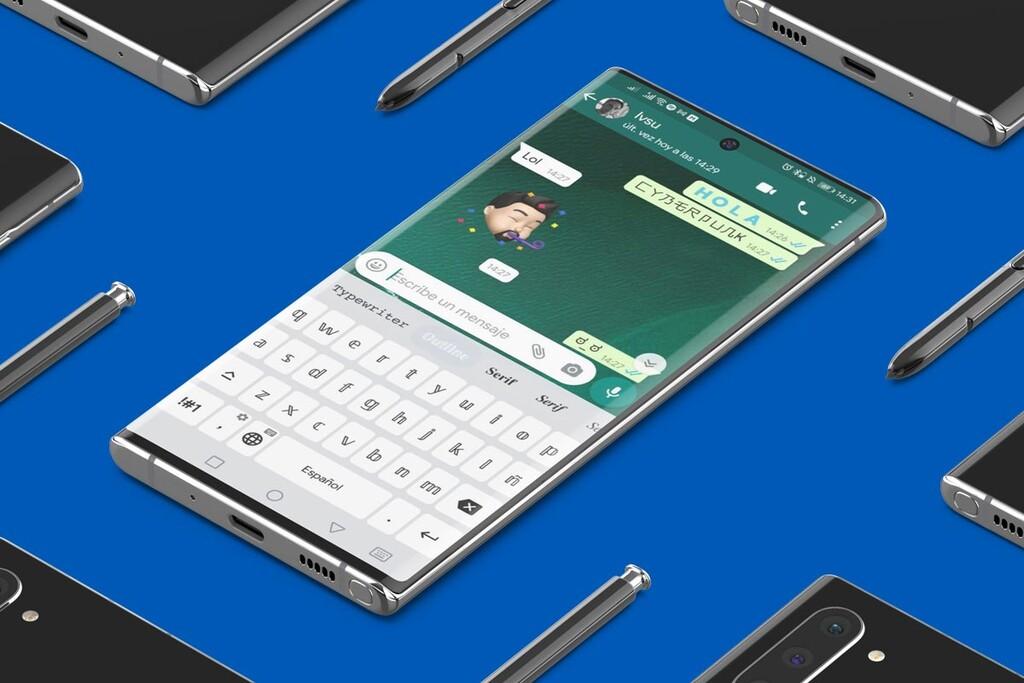 Escribir en apps como WhatsApp con distintos tipos de letra es posible con este teclado