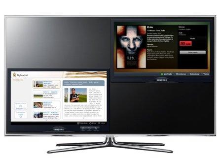 El nuevo Samsung Smart TV LED D8000 recibirá contenido 3D directamente de Youtube