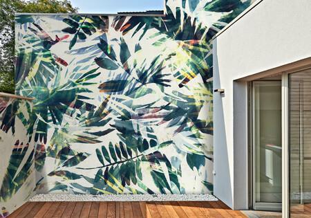 Alerta tendencia: papel pintado también para terrazas y balcones