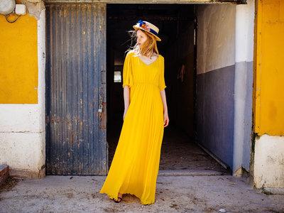 Los maxi vestidos de verano son los reyes del street-style