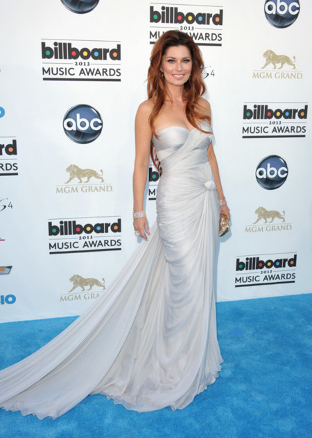 Shania Twain peor vestidas billboard 2013