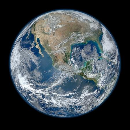 64 Megapíxeles de Planeta Azul