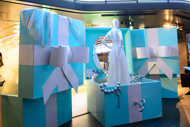 Cajas Azules Tiffany Excellsior