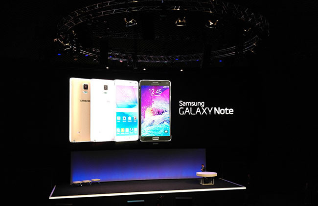 Samsung Galaxy Note Press