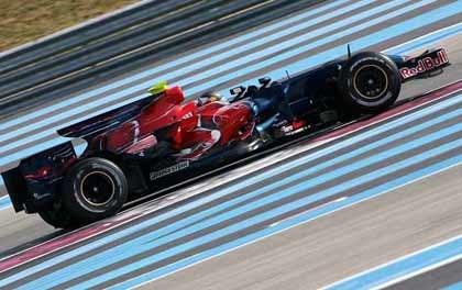 La F1 inicia su semana de test en el Paul Ricard