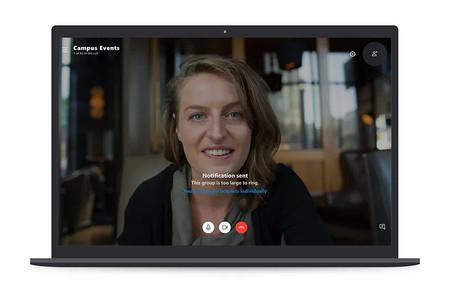 Skype permitirá videollamadas de hasta 50 participantes doblando el máximo permitido hasta el momento