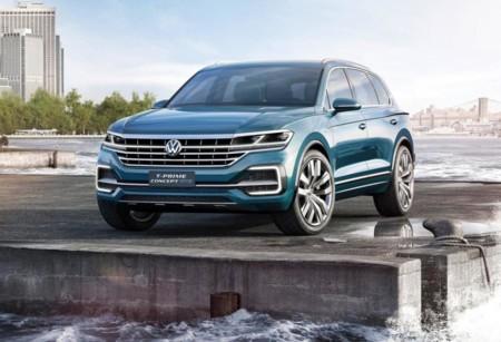 Volkswagen T-Prime GTE Concept, así de eficiente deberá ser la nueva Touareg