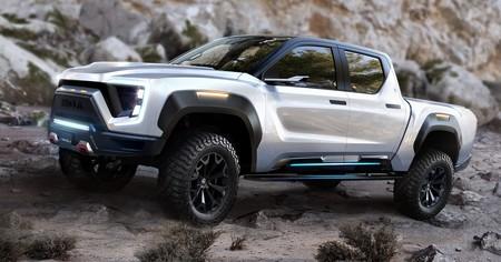Nikola deja ver su impresionante pickup eléctrica: la alternativa al Tesla Cybertruck tendrá casi 1.000 km de autonomía