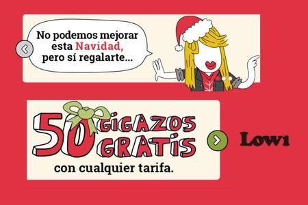 Promocion Navidad Lowi 2020