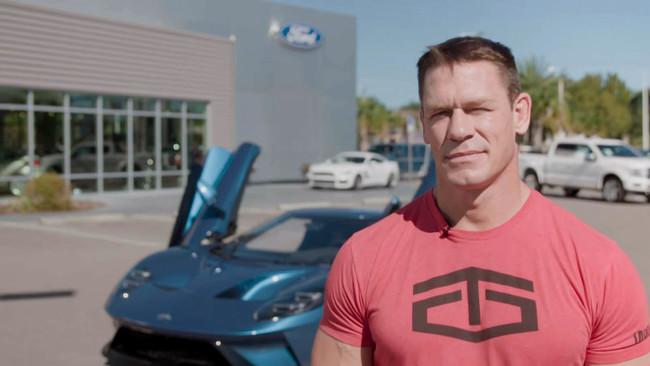 John Cena tardó dos semanas en vender su Ford GT. Y Ford le demanda por ello