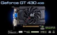 Inno3D NVidia GT430 se lanza pensando en el marketing, con 4 GB GDDR3