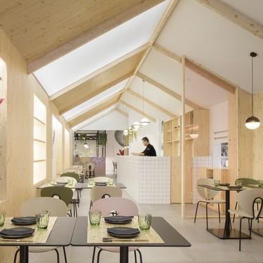 Restaurante Kamon, cocina con estilo japonés en Valencia con diseño de Nonna designprojects