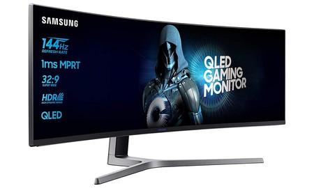 Con unas altas prestaciones y enorme diagonal, el monitor Samsung C49HG90DMU de 49 pulgadas, vuelve a estar de oferta en Amazon, por 804,99 euros