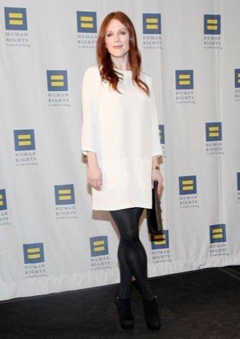 Julianne Moore minimalismo Tendencias primavera 2011