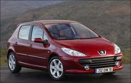 Llamada a revisión del Peugeot 307 por posibles problemas en ABS/ESP, aunque no en España