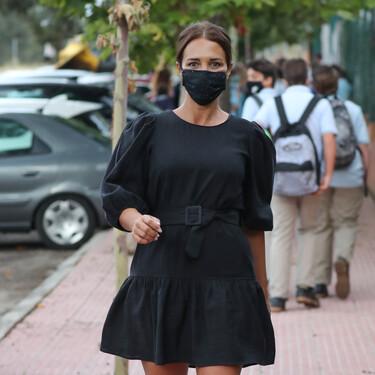 Cinco vestidos negros de menos de 30 euros con los que copiar el look todoterreno de Paula Echevarría