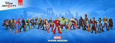 Ya ha llegado a las tiendas la edición Disney Infinity 2.0 con Marvel Super Heroes