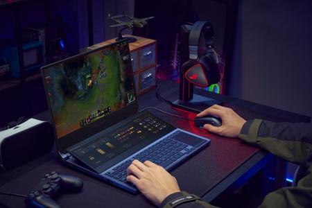 Así es el ASUS ROG Zephyrus Duo 15, un nuevo portátil de alta gama para videojuegos que cuenta con dos pantallas
