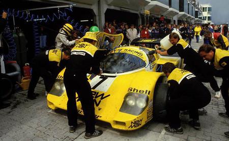 El día que Ayrton Senna pilotó un Porsche 956