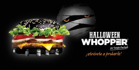 Halloween Whopper: La hamburguesa negra para celebrar la Noche de Brujas