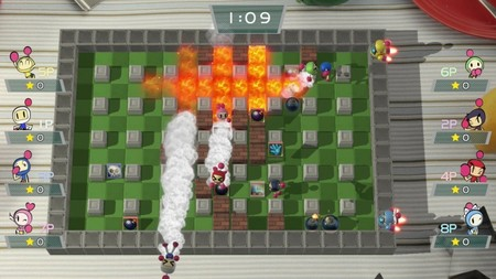 Así luce el multijugador de Super Bomberman R en un gameplay de 16 minutos