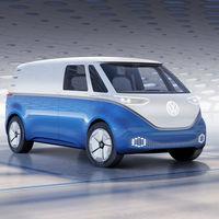 Volskwagen I.D. Buzz Cargo, un Crafter futurista y eléctrico