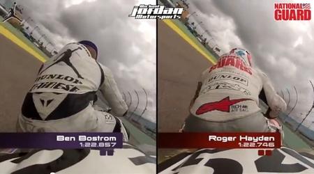 Dos pilotos, dos estilos, mismos tiempos