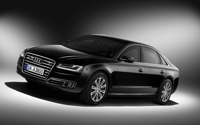 Viaja tranquilo a bordo del Audi A8 L Security 2014