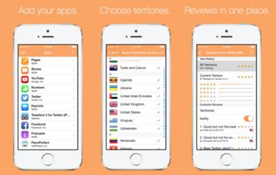 Reviews: controla todas las reseñas de tu aplicación para iOS desde el iPhone