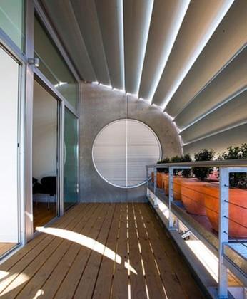Foto de Casas poco convencionales: adosados futuristas en Sydney (7/17)