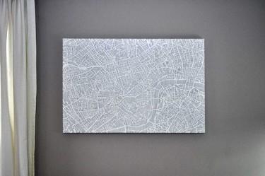 La belleza de los mapas de Karen O'Leary