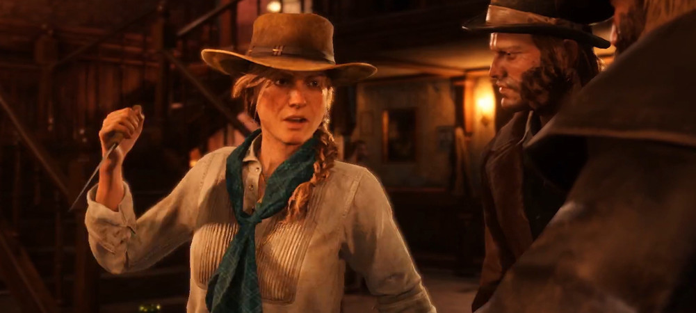 Red Dead Redemption 2 Bonnie Mcfarlane