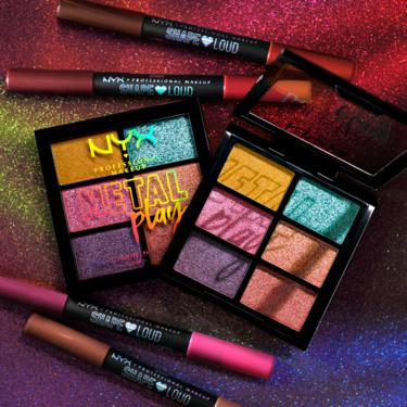 """NYX Cosmetics lanza """"Pride Collection"""", una edición limitada de maquillaje cargada de color y buen rollo"""