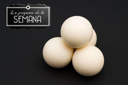 ¿Guardáis los huevos en la nevera o fuera de ella? La pregunta de la semana