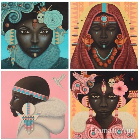 Paul Lewin o cómo empoderar el afrofuturismo a base de ilustraciones