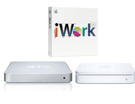 Suben un 50% las ventas de iWork, pero bajan las del Apple TV y la gama Airport