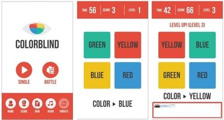 ColorBlind, un adictivo y gratuito juego de tiempo de reacción para Windows Phone 8
