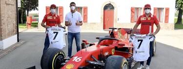 Cristiano Ronaldo se da una vuelta por Maranello para recoger su nuevo, exclusivo y limitado Ferrari