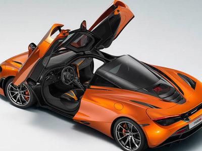 ¡Filtrado! Aquí tienes al McLaren 720S mostrando su encantadora silueta