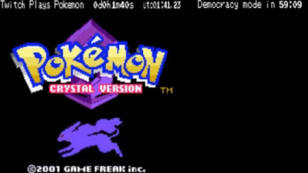Fenómeno Twitch Plays Pokémon vence Pokémon Crystal‏