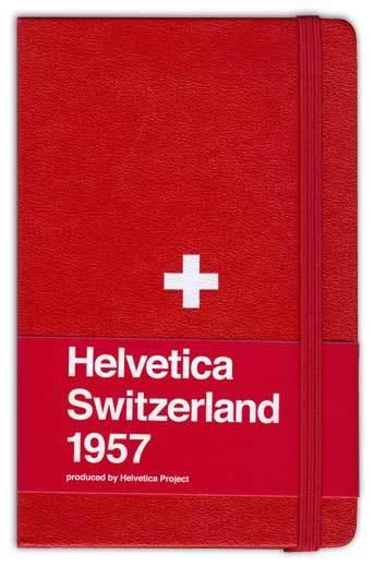 Moleskine Helvetica Red, edición limitada