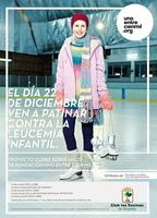 Corre sobre hielo: jornada solidaria contra la leucemia infantil
