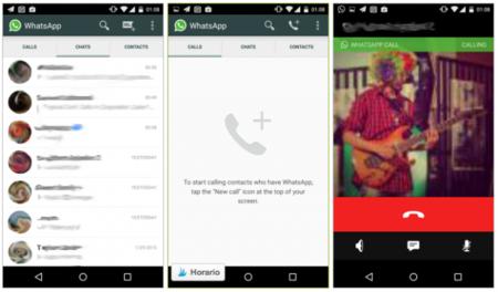 Aparece más información de la función de llamadas de WhatsApp