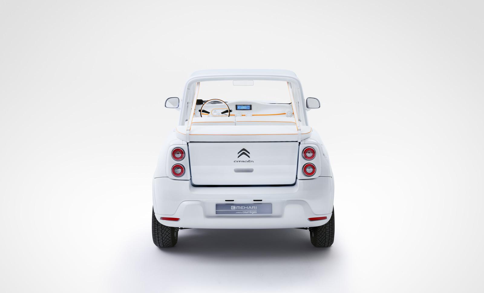 Foto de Citroën E-MEHARI styled by Courrèges (8/16)
