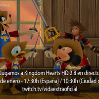 Streaming de Kingdom Hearts HD 2.8 Final Chapter Prologue a las 17:30h (las 10:30h en Ciudad de México)