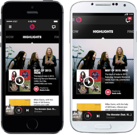 Definitivo: Beats Music aparecerá el 21 de enero para iOS, Android y Windows Phone