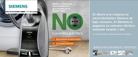 Siemens nos regala un año de electricidad