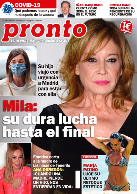 Portada De La Revista Pronto 2564
