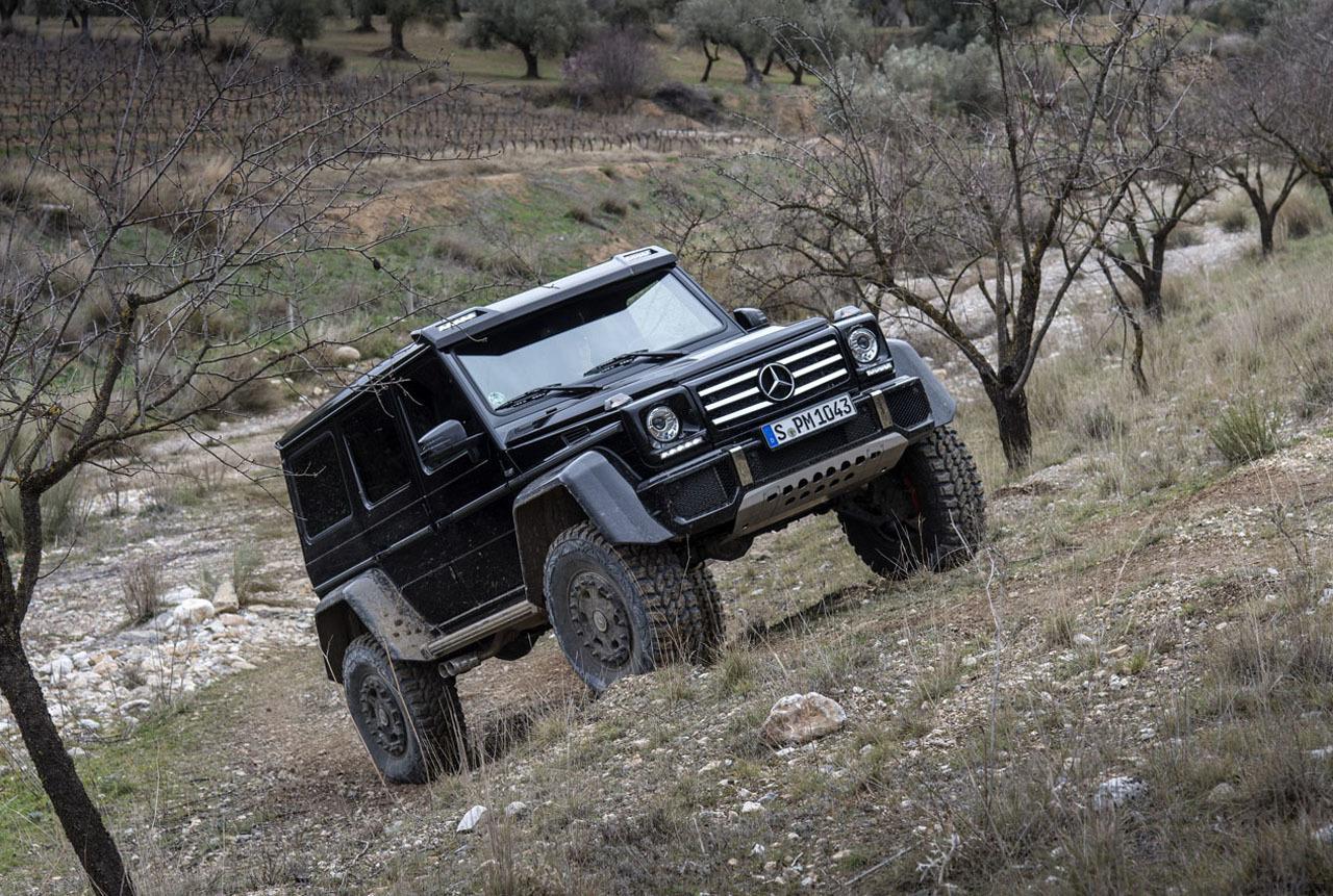 Foto de Mercedes-Benz G 500 4x4², toma de contacto (56/127)