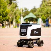 Los Kiwibots que reparten comida no van solos: se descubre que los controlan operadores en Colombia por 2 dólares la hora